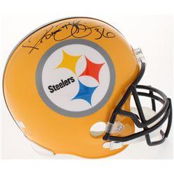 Jerome Bettis Signed Steelers Full-Size Throwback Helmet (Radtke COA)