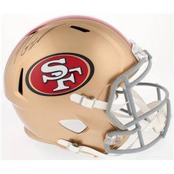 Jimmy Garoppolo Signed 49ers Full-Size Speed Helmet (TriStar)