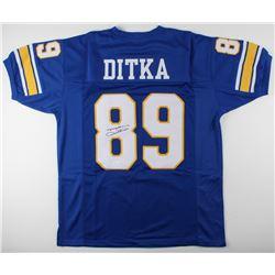 Mike Ditka Signed Jersey (JSA COA)