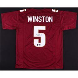 Jameis Winston Signed Jersey (Radtke COA  Jameis Winston Hologram)