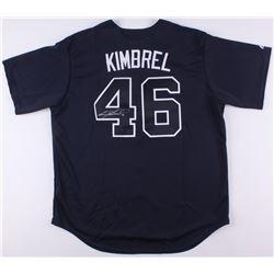 Craig Kimbrel Signed Braves Jersey (Radtke COA)
