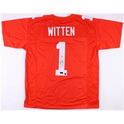 Jason Witten Signed Jersey (Radtke COA  Witten Hologram)