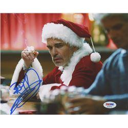"""Billy Bob Thornton Signed """"Bad Santa"""" 8x10 Photo (PSA COA)"""