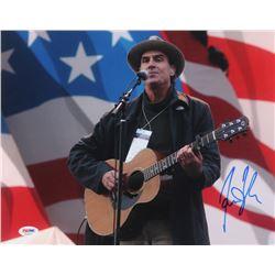 James Taylor Signed 11x14 Photo (PSA COA)