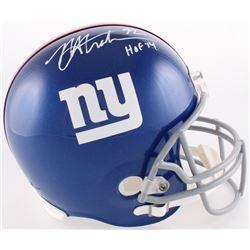 """Michael Strahan Signed Giants Full-Size Helmet Inscribed """"HOF '14"""" (JSA COA)"""