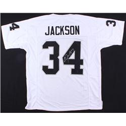 Bo Jackson Signed Jersey (Jackson Hologram)