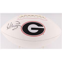 Todd Gurley Signed Georgia Bulldogs Logo Football (Radtke COA)