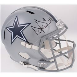 Dak Prescott Signed Dallas Cowboys Full-Size Speed Helmet (JSA COA  Prescott Hologram)