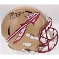Jameis Winston Signed Florida State Seminoles Full-Size Speed Helmet (Radtke COA  Winston Hologram)
