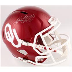 Adrian Peterson Signed Oklahoma Sooners Full-Size Speed Helmet (Fanatics Hologram)