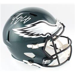 LeSean McCoy Signed Eagles Full-Size Speed Helmet (Radtke COA)