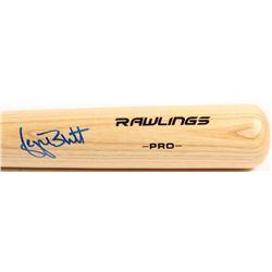 George Brett Signed Rawlings Pro Baseball Bat (Beckett COA)