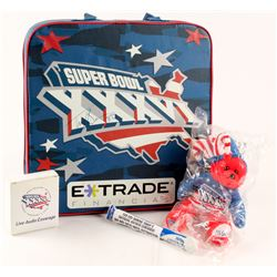 Troy Brown Signed New England Patriots Authentic Super Bowl XXXVI Seat Cushion with Accessories (JSA