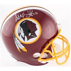 Alex Smith Signed Redskins Full-Size Helmet (Beckett COA)