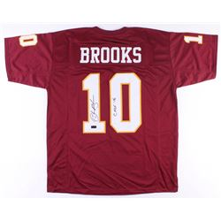 "Derrick Brooks Signed Jersey Inscribed ""CHOF 16"" (Radtke COA)"