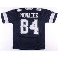 Jay Novacek Signed Cowboys Jersey (Radtke  JSA COA)