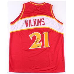 Dominique Wilkins Signed Jersey (TriStar Hologram)