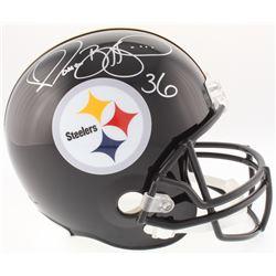 Jerome Bettis Signed Steelers Full-Size Helmet (JSA COA)