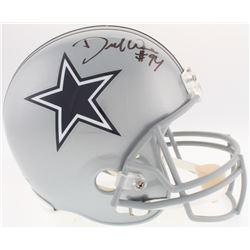 DeMarcus Ware Signed Cowboys Full-Size Helmet (Radtke COA)