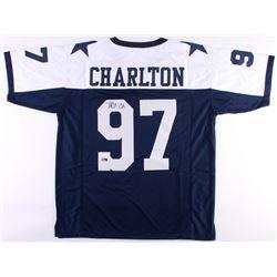 Taco Charlton Signed Jersey (Radtke COA  JSA COA)
