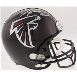 Devonta Freeman Signed Falcons Full-Size Helmet (Radtke COA)
