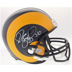 Jerome Bettis Signed Rams Full-Size Throwback Helmet (Radtke COA)