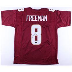 Devonta Freeman Signed Jersey Inscribed (JSA COA)