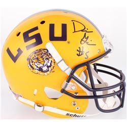 Derrius Guice Signed LSU Tigers Full-Size Helmet (Radtke Hologram)