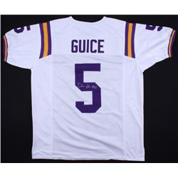 Derrius Guice Signed Jersey (Radtke COA)