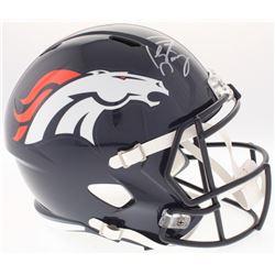 Peyton Manning Signed Broncos Full-Size Speed Helmet (Fanatics Hologram)