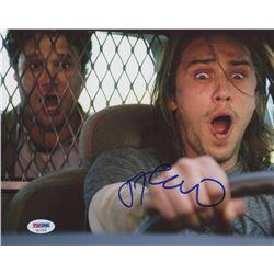 "James Franco Signed ""Pineapple Express"" 8x10 Photo (PSA COA)"