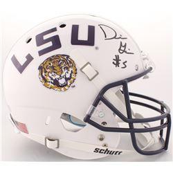 Derrius Guice Signed LSU Tigers Full-Size Helmet (Radtke COA)