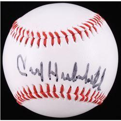 Carl Hubbell Signed Baseball (Beckett COA)