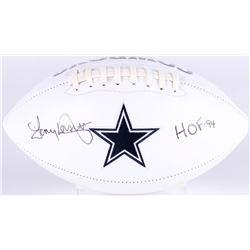 "Tony Dorsett Signed Cowboys Logo Football Inscribed ""HOF 94"" (JSA COA)"