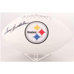 Terry Bradshaw Signed Steelers Logo Football (PSA  Terry Bradshaw Hologram)