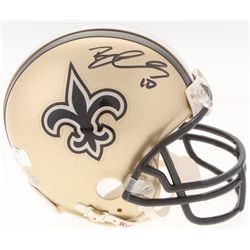 Brandin Cooks Signed Saints Mini-Helmet (Radtke COA)