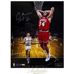 "Charles Barkley Signed 76ers ""Tomahawk Jam"" 16x20 Limited Edition Photo (Panini COA)"