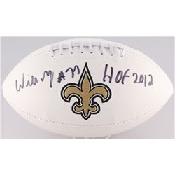 "Willie Roaf Signed New Orleans Saints Football Inscribed ""HOF 2012"" (Radtke Hologram)"