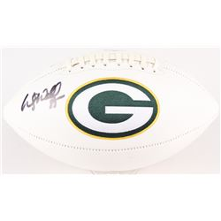 Wesley Walls Signed Packers Logo Football (Radtke Hologram)
