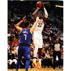 "Deandre Ayton Signed Phoenix Suns ""NBA Debut"" 16x20 Photo (Game Day Legends COA  Steiner COA)"