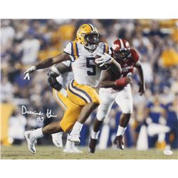 Derrius Guice Signed LSU Tigers 16x20 Photo (JSA COA)