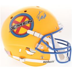 "Stan Lee Signed Custom ""X-Men"" Full-Size Helmet (Radtke COA  Lee Hologram)"