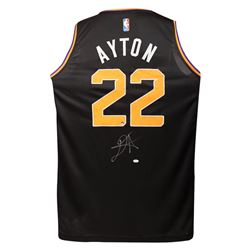 Deandre Ayton Signed Suns Jersey (Game Day Legends COA  Steiner COA)