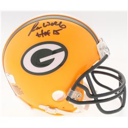 "Ron Wolf Signed Packers Mini-Helmet Inscribed ""HOF 15"" (Radke COA)"