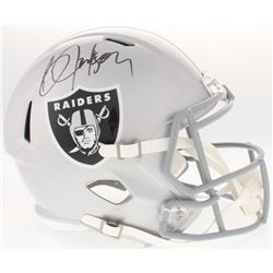 Bo Jackson Signed Raiders Full-Size Speed Helmet (Radtke COA  Jackson Hologram)