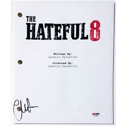 "Channing Tatum Signed ""The Hateful Eight"" Full Movie Script (PSA COA)"