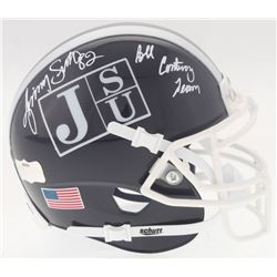 "Jimmy Smith Signed Jackson State Tigers Mini Helmet Inscribed ""All Century Team"" (Radtke COA)"