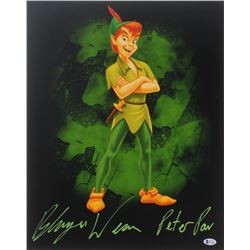 "Blayne Weaver Signed ""Peter Pan"" 16x20 Photo Inscribed ""Peter Pan"" (Beckett COA)"