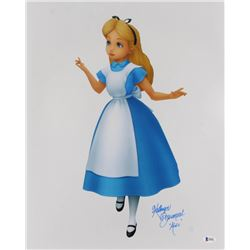 "Kathryn Beaumont Signed ""Alice in Wonderland"" 16x20 Photo Inscribed ""Alice"" (Beckett COA)"