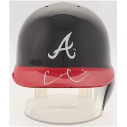 Evan Gattis Signed Braves Mini-Helmet (Radtke Hologram)